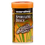 Wardley Premium Spirulina Discs are an all vegetable food for bottom feeders and algae eaters. Formulated with spirulina as its chief ingredient, this blue green algae is known for its abundance of color enhancers.
