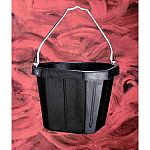 5 gallon corner bucket. Shaped to fit snuggly into corners. Galvanized fittings and bail. Designed to be used with corner bracket 1500.