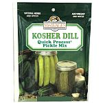 Enjoy the robust flavor of a dill pickle with garlic. This mix contains natural herbs and spices, just add vinegar and water through the canning process. Each pack makes 10-12 quarts of crisp, crunchy pickles -- the best price and quality value in canning