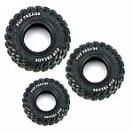 Made from recycled rubber, the Pup Treads Recycled Rubber Tire Dog Toy makes a great chew toy for your active dog or pupy. Strong and durable, this rubber tire is made for agressive chewers or puppies that are teething. Available in four sizes.