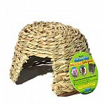Nature Huts - Edible Hideouts by Ware. Nature Huts are crafted of natural fibers and grasses, totally safe for your critters chewing enjoyment. A safe secure hide and midnight snack in one.