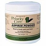 Aspirin Powder for use as an aid in reducing fever in dogs and for mild analglesic. Follow instructions: administer orally. Dogs: 0.15% food ration. 1 lb.