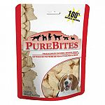 Dogs love the taste of purebites! Only one ingredient: 100 percent natural and pure usda inspected chicken breast. High in protein and less than 9 calories per treat. Freeze-dried to lock in valuable nutrients and freshness.