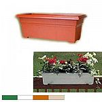 From modern decks to traditional front porches, Countryside Planters Flower Boxes bring the beauty of flowers to the places where people live. Lightweight, durable, fade-resistant plastic.