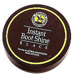 Fiebing's Instant Boot Shine gives you an instant shoe polish when you are in a hurry. Use before a meeting or going into the show ring. Formulated to repel dust and will not evaporate or get on clothing. Comes with a sponge so you don't need to use any b