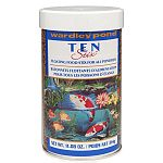 Ten Pond Stix by Wardley is a highly nutritious food for your fish that is formulated to maintain the overall health of your pond fish and maintain water quality. Made with shrimp. Enhances the color of your fish.