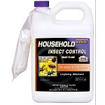Insecticide ready-to-use. Household insect eliminator. Advanced third generation pythriod technology. Quick acting, long lasting. Odorless, non-staining. No drip formula stays wehere you put it.