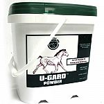 Field trials prove u-gard highly effective on gastric ulcers. Tests showed impressive improvements in horses with a variety of grades of ulceration throughout treatment with u-gard.