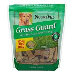 Help reduce urinary nitrogen levels and neutralize the potential for high ph urine that can damage grass. This tasty wafer promotes a healthy pet and spotless lawn. Hard and crunchy to help promote strong teeth and healthy gums and are made with high qual
