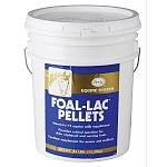 FOAL-LAC Pellets provides milk protein and other essential nutrients to older orphaned and early weaned foals to maintain growth rate through weaning. It is also an excellent supplement for broodmares, breeding stallions and all growing horses.