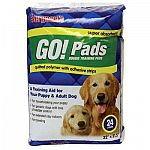 These doggie training pads by Sergeant's make housebreaking much easier. Pads are designed to absorb quickly and are perfect for long indoor stays or traveling with your dog. Sold in a pack of 24.