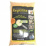 An all natural calcium substrate, ideal for desert dwelling reptiles and arachnids. The naturally spherical grains won t scratch your valuable animals inside or out. There are no artificial dyes or chemicals in reptilite.