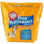 An odor-free home starts here! ARM & HAMMER® High Performance. is a natural alternative to clay-based cat litter and provides rock-solid clumping with new advanced clumping technology. Is 100% scoopable litter with virtually no dust.