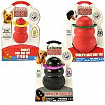 Kongs Exclusive Ultra-flex natural rubber formula dog toys are chewer friendly. It can even be stuffed with food or treats to keep your dog contentedly busy for hours.