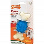 Double Action Dental Chews deliver pure chewing satisfaction! Great bone-shaped chew has a specially-shaped center with lots of dental nubs that will help clean teeth and massage gums.