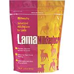 Lama instantized milk replacer for lambs. Formulated specifically for lambs. Crude protein 24.0%, Crude fat 30.0%. Decreased lactose levels. Contains organic acids. Non-medicated. Mixes easily and stays in suspension. 3.5 lbs.
