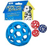 Put these JW Pet Holee Rollers toys to the tug-of-war test and they will come out intact every time! Made of tough, yet flexible rubber, they bounce, roll, 'squish,' tug and immediately spring back. Available in sizes to suit every pet.