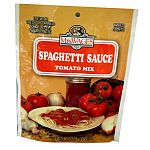 Top selling brand of the fast growing tomato sauce mix category of the home canning market. Use this mix, containing just the right spices with fresh or canned tomatoes, or tomato paste, for a spectacular spaghetti sauce.
