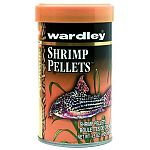 Wardley Shrimp Pellets are designed to soften and sink gradually, to allow fish at all levels to feed at their leisure. They're formulated to provide a variety of tropical fish with excellent nutrition, and are especially appealing to bottom feeders.