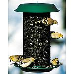 4 QUART Magnum Sunflower Feeder is built to survive the elements of nature and provide years of enjoyment. MAGNUM Feeders attract and feed more birds than any other feeder of comparable size!