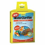 Clears cloudy water fast. Removes odors. Neutralizes iron in tap water.