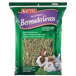 KAYTEE Bermuda Grass provides a natural alternative source of fiber for rabbits and other small animals. Bermuda grass is a high fiber, high quality hay that aids in the natural digestive process of small pets.