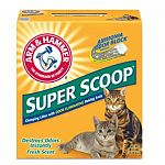 Arm & Hammer Super Scoop is formulated with ARM & HAMMER® Baking Soda to control and eliminate litter box odors--including odors caused by germs! It also has an advanced clumping system, so you can remove the entire source of odors without crumbling.