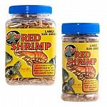 Zoo Med Sun-Dried Red Shrimp are an excellent high quality protein rich food ideal for large aquatic turtles and large size freshwater aquarium fish and invertebrates. Fish and turtles typically show an increase in weight and vigor.