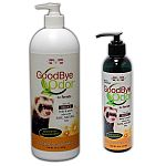 Virtually eliminate ferret litter box and body odors with GoodBye Odor Waste & Urine Deodorizer for Ferrets. 100% natural supplement deodorizes your pet's stool, urine, and body odors. Just add to your pet's food or water daily.