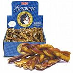 Dog treat. Your dog will simply love these Braided Bully Sticks, so just make sure that you do not run out.  Bully Sticks are a well known and trusted name in dog treats.  Small - 5 in.