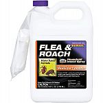 Up to 7 months of insect control. Breaks insect life cycle. Kills adults and keeps larvae and eggs from developing. Works 2 ways as contact insecticide and growth regulator. Use on carpets, drapes, furniture and pet bedding areas.