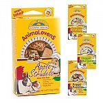 Crunchy oven baked treats ideal for all small animals. Contains real garden vegetables.  Choose from a number of flavors. Small pets love these delicious treats 3.5 oz.