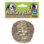 The Nature Ball for Small Animals is a great exercise ball and provides a fun and healthy activity for your small pet. This exercise ball is made of sisal rope and provides hours of entertainment. Perfect for rabbits, guinea pigs and other small animals.