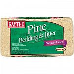 Kaytee natural pine bedding and litter is manufactured with all natural pine shavings specially processed to eliminate dust. The natural pine oils help suppress microorganisms and provide a clean, fresh aroma.