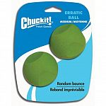 Made from natural rubber. Easy to clean. Designed to have a stimulating random bounce. 2-2.5 inch balls per package.