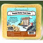 Peanut Butter Suet Cake for Wild Birds is a nutritious, high protein suet for a variety of birds. Great for year round bird feeding and provides birds with much needed energy especially in the cold winter months of the year. Easy to hang, just place in a