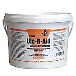Designed to nutritionally support horses of all ages with gastric ulcers. Ulc-R-Aid's unique formula combines natural supplemental calcium and magnesium, commonly known as antacids.
