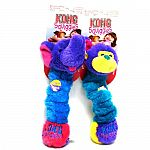 Stretchy, floppy, squeaky fun for dogs and their owners. Features a long stretchy body with squeakers at both ends. Minimal stuffing for minimal mess. Assorted animal characters.