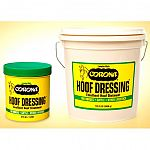 Corona Hoof Dressing is a liquified formula dressing with the emollient action of real lanolin. Has ability to preserve vital moisture balance strengthen the entire foot and promote smooth regrowth of hoof wall. Helps to heal cuts scrapes rope burns