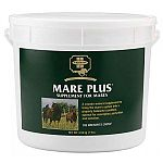 Mare Plus – a concentrated, scientifically formulated and balanced vitamin-mineral concentrate, crumbled and flavored for taste appeal. Keeps broodmares in optimum condition during all stages of breeding.