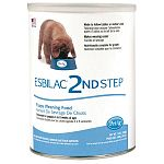 A highly digestible complete food for young growing puppies. Esbilac 2nd Step Puppy Weaning Food is a creamy transitional cereal developed to follow Esbilac, for easy transition from milk to solid food.