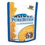 Dogs love the taste of purebites! Only one ingredient: 100 percent natural and pure us made cheddar cheese. High in protein and a great source of calcium. Freeze-dried to preserve the natural nutriton and freshness of cheddar cheese.