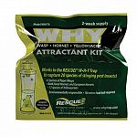 The Why Trap Attractant Refill helps to attract wasps, hornets and yellow jackets to the Why Trap. This attractant lures both the queen and the workers to help eliminate your pest problem. 2 WEEK SUPPLY. Exclusively made for the Why Trap.