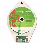 Strong and flexible plastic-coated wire twist. Cut-to-length cutter included. Ideal for tying plants, vines and vegetables.  This continuous roll of strong and flexible plastic-coated wire twist is made even more convenient for you -- it includes a cut-