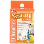 Ideal material for nest lining and building. Satisfies natural nesting instinct.