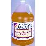 Wheat Germ oil Blend is a combination of Soybean Oil and Wheat Germ Oil. It also contains vitamins A, D, and E. It is fed primarily to enhance the condition and appearance of the horse's coat and skin.