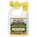 Ready-to-use from the bottle. Thorough coverage of the insect is required for maximum kill. Repeat application every few days, if needed. Use to kill and control insects on vegetables, fruit trees, turf, ornamentals, walkways, driveways and more. Apply ea