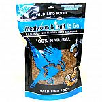The Mealworm and Fruit To Go Wild Bird Food by Unipet is made to provide your backyard birds with a healthy alternative to bird seed. May be mixed in with bird seed. The natural fruit flavor makes these dried mealworms taste great!