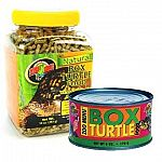 Box turtle food is loaded with whole corn and apples, two of the favorite foods of captive box turtles. We also add additional vitamins, minerals and a special natural flavoring agent to entice turtles to feed.
