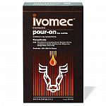Ivomec ivermectin pouron for cattle proven results against lice, worms and horn flies. Pioneer in broad-spectrum parasite control in a pouron. Brand of choice among cattle producers. Offers persistent activity against the most damaging internal par.